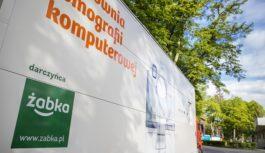 Żabka przekazała szpitalowi w Gorzowie Wielkopolskim tomograf. Wart 3 mln zł sprzęt ułatwi diagnostykę pacjentów z COVID-19