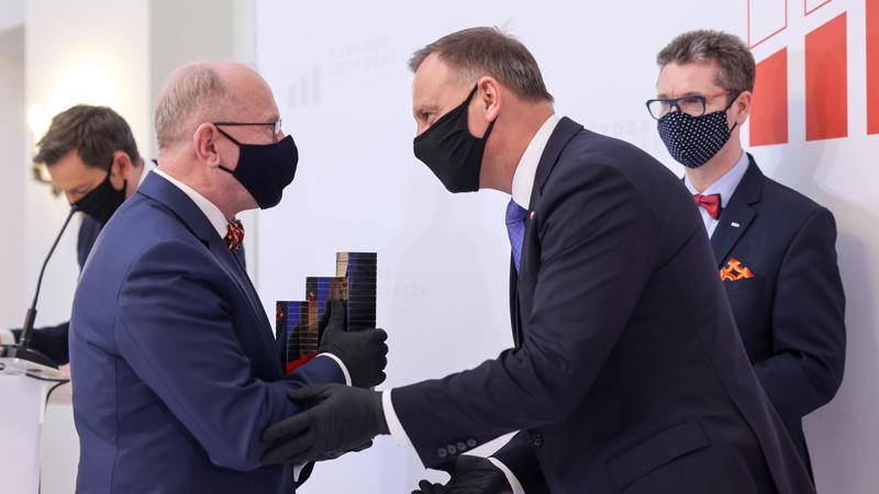 Henryk Skarżyński nagrodzony Nagrodą Gospodarczą Prezydenta